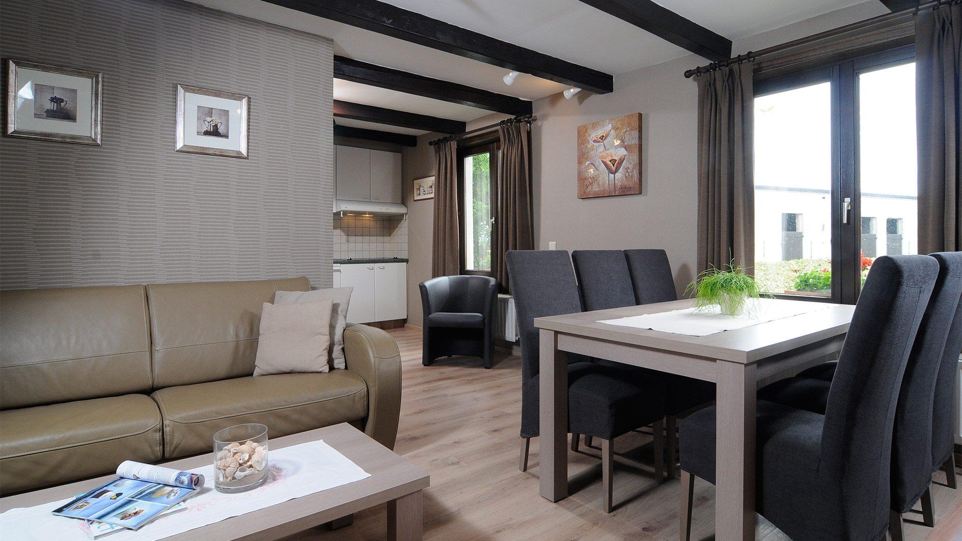 Comfort vakantiewoning - De Kruishoeve